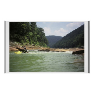 Cheat Canyon Low Water Poster