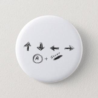 Cheat Code 2 Inch Round Button