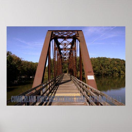 Cheatham County Bicentennial Trail Bridge Poster