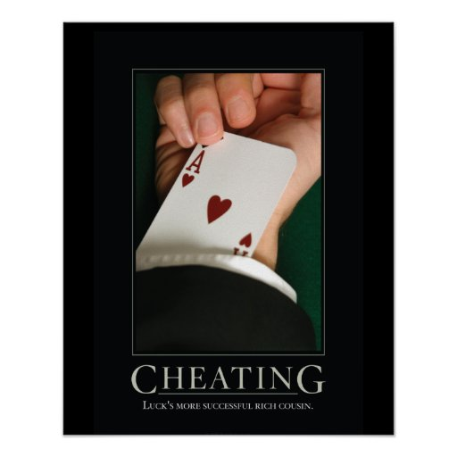 Cheating Demotivational Posters