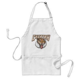 Cheating Tiger Cheetah Standard Apron