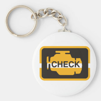 Check Engine Light Keychain