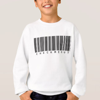 Check Me Out Bar Code Sweatshirt