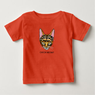 CHECK MEOWT BABY T-Shirt
