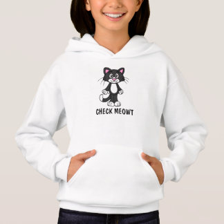 CHECK MEOWT Cat Girls Hoodies