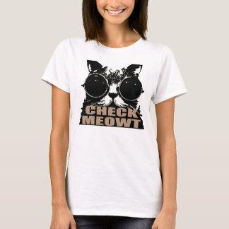 Check meowt T-Shirt