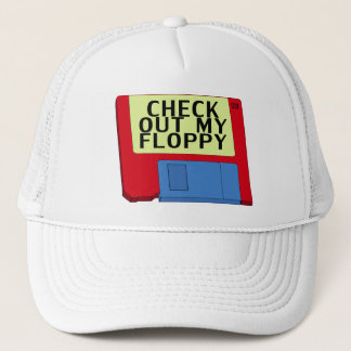 Check Out My Floppy Trucker Hat