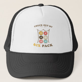 Check Out My Six Pack Donut Shirt Trucker Hat