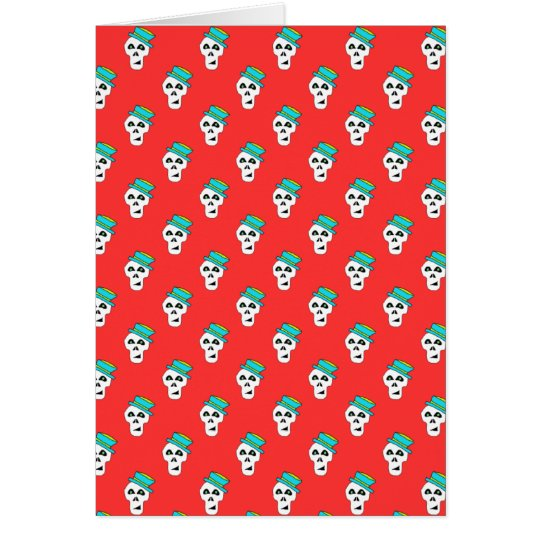 CHECK OUT THIS AWESOM  SAM THE SKULL CARD! CARD