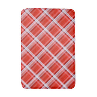 Check Pattern Bath Mat