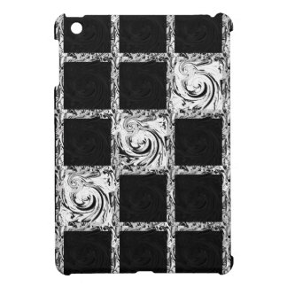 check pattern cover for the iPad mini
