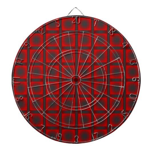 Check pattern dartboard