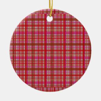 check print christmas decoration