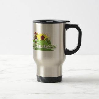 check the farm logo travel mug