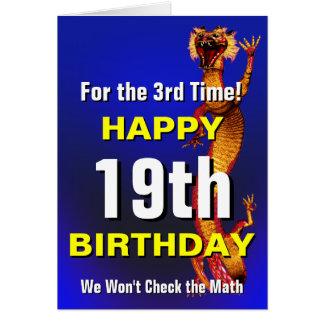 Check the Math Birthday Card