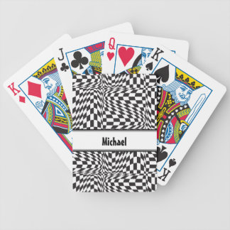 Check Twist Bicycle Playing Cards