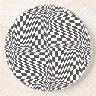 Check Twist Coaster