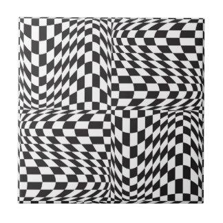 Check Twist Tile
