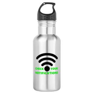 Check your notifications! Water Bottle. 532 Ml Water Bottle