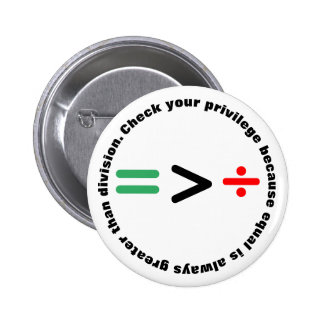 Check Your Privilege 2 Inch Round Button
