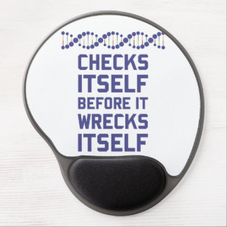 Check Yourself Before You Wreck Your DNA Genetics Gel Mouse Pad
