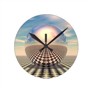 Checker Ball Clock