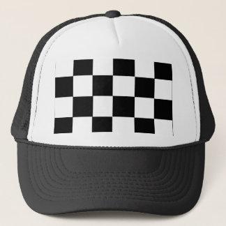checker board - Customized Trucker Hat