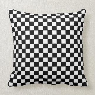 Checker board pillow