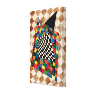 Checker by Wassily Kandinsky Canvas Print