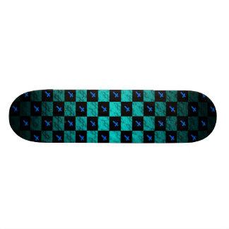 Checker Cross Skateboard