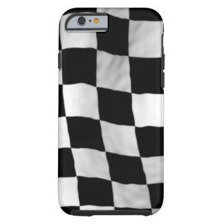 Checker Flag Tough iPhone 6 Case
