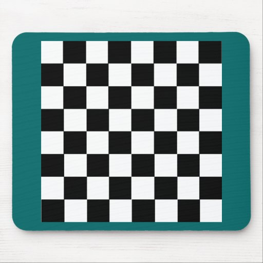 Checker Pattern Mouse Pads