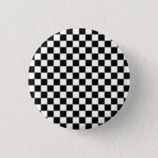 checker_small 1 inch round button