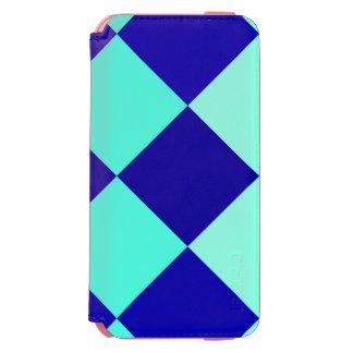 CHECKERBOARD BLUES! ~ INCIPIO WATSON™ iPhone 6 WALLET CASE
