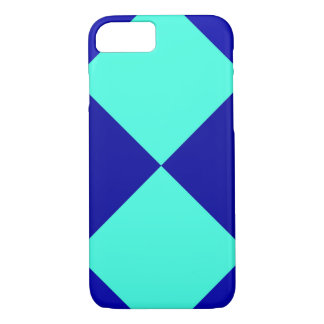 CHECKERBOARD BLUES! ~ iPhone 7 CASE