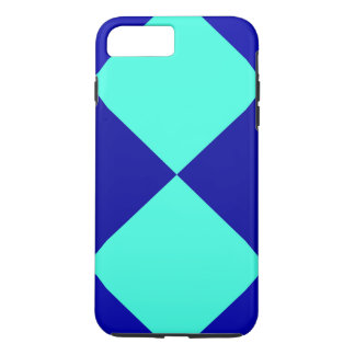CHECKERBOARD BLUES! ~ iPhone 7 PLUS CASE