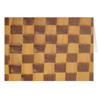 Checkerboard Card