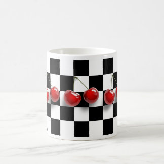 Checkerboard Cherries Mug