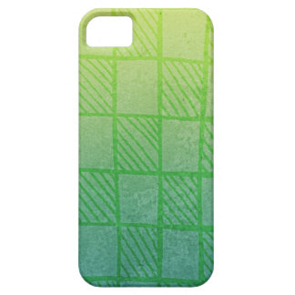 Checkerboard (green) iPhone 5 covers
