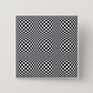 Checkerboard Illusion Square Button