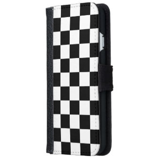 Checkerboard iPhone 6 Wallet Case