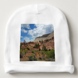 Checkerboard Mesa Zion National Park Utah Baby Beanie
