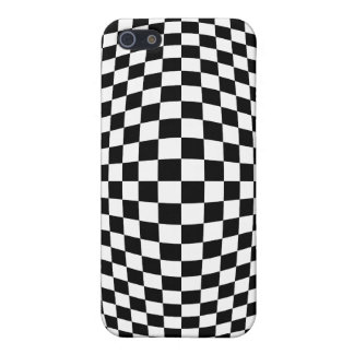 Checkerboard optical illusion iPhone 5/5S cover