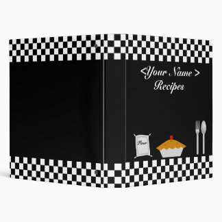 Checkerboard Recipe  Book Binders
