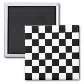 Checkerboard Square Magnet