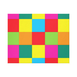 "CHECKERED 20"" x 16"", 1.5"", Single Canvas Print"