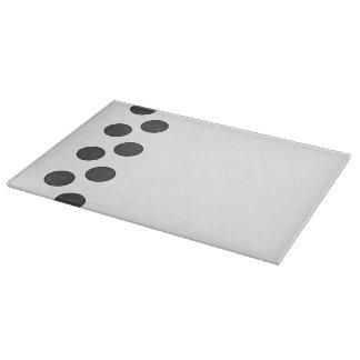 Checkered DarkGrey Dots Boards