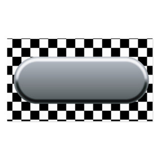 Checkered Flag Business Card Template