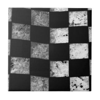 Checkered Flag Ceramic Tiles