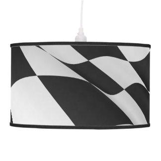 Checkered Flag Custom Pendant Lamp